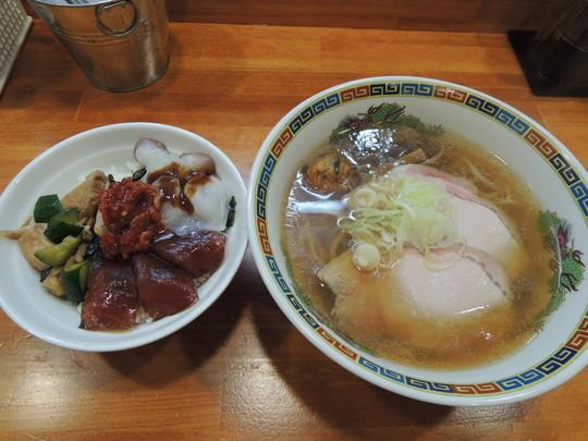 醤油(700円)+どんぶり(500円)