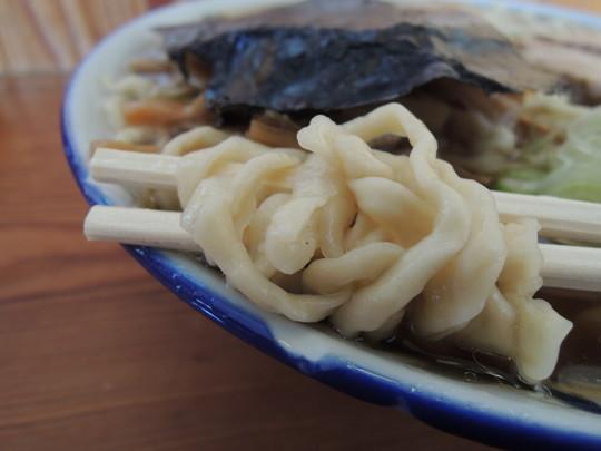 中華そば普通の麺