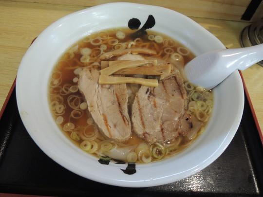 海老ワンタンメン(正油)(780円)