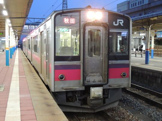 酒田発秋田行普通(559M列車)(JR東日本701系)