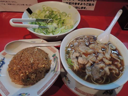 中華そば(並)+ヤキメシ