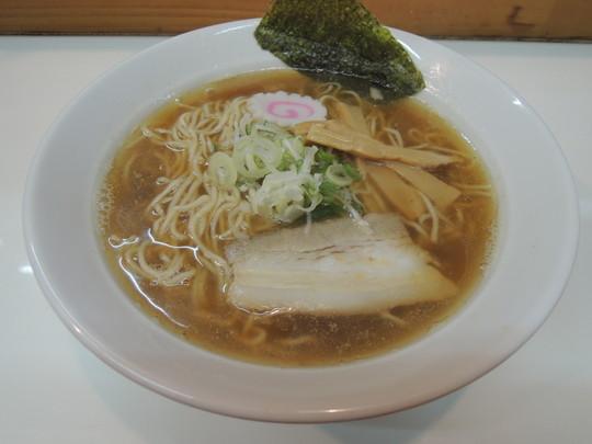 煮干中華そば(550円)