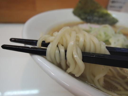 煮干中華そばの麺