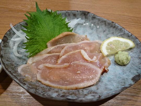 大山どり炙り刺身(生ハム仕立て)(410.4円)