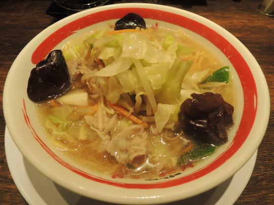 近江ちゃんぽん(野菜大盛り)(734円)
