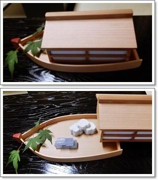 屋形船干菓子