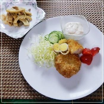 母の夕飯2