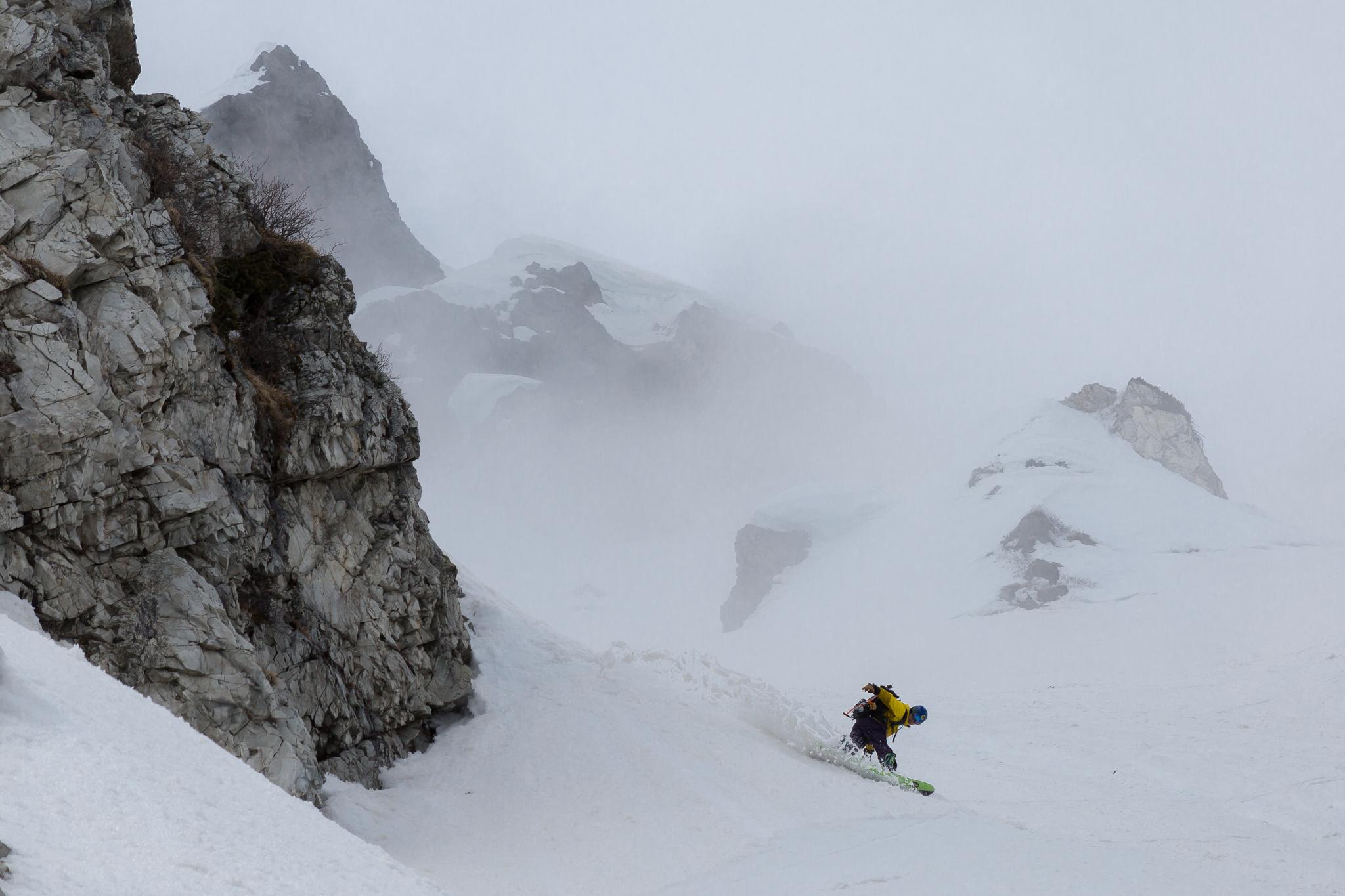 白馬岳 三号雪渓