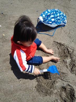 1歳児 潮干狩り 海遊び