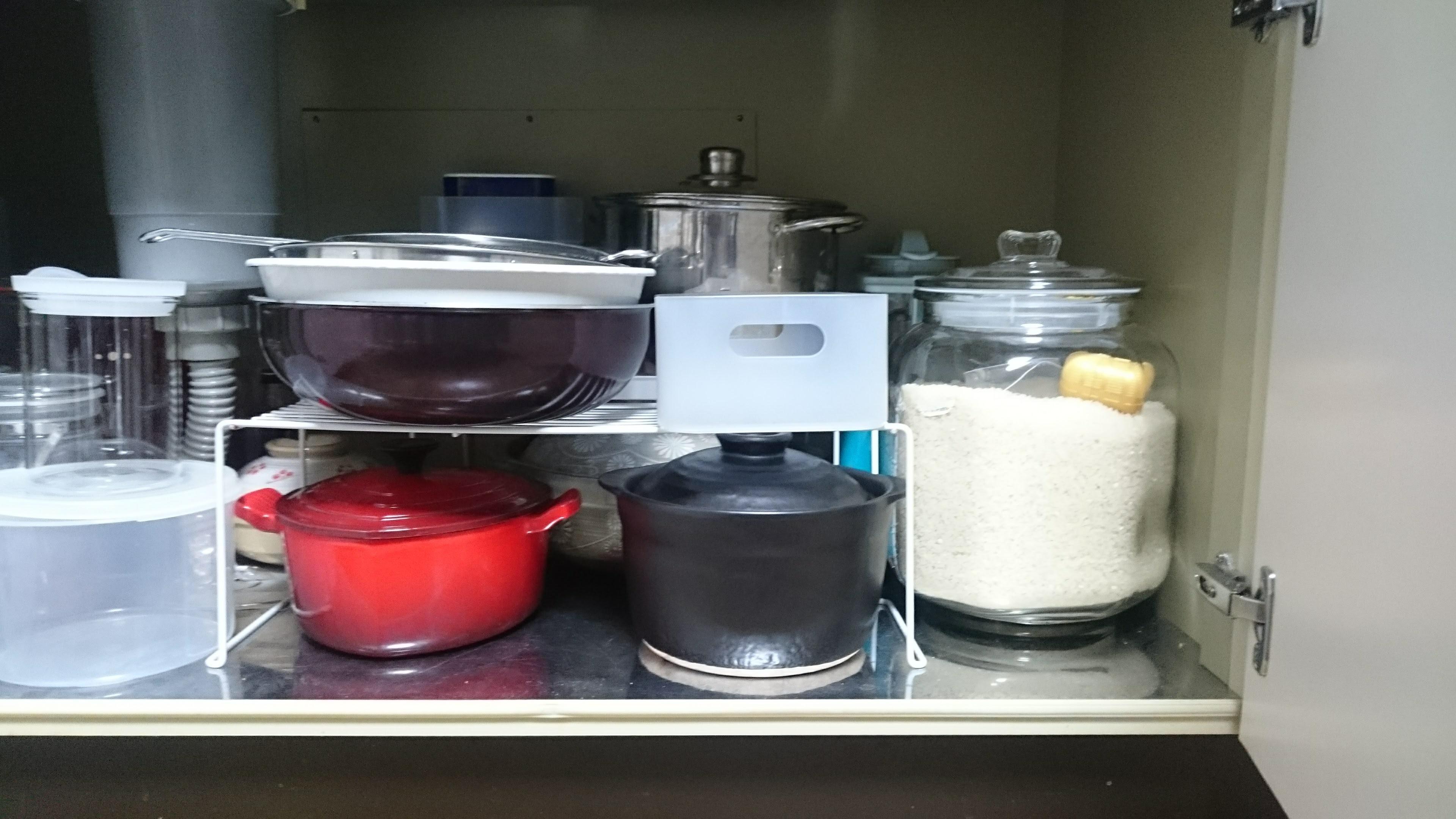 炊飯土鍋の収納