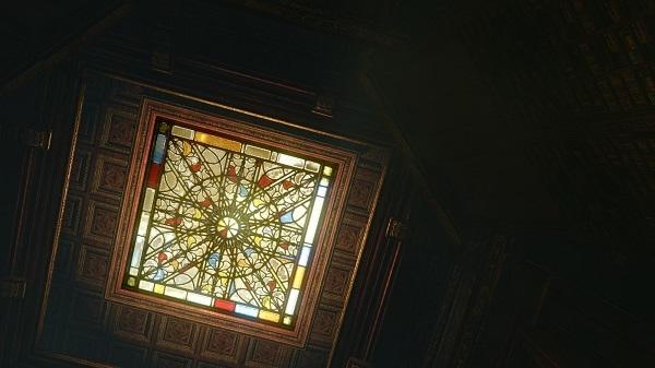 5月18日角部屋の天井