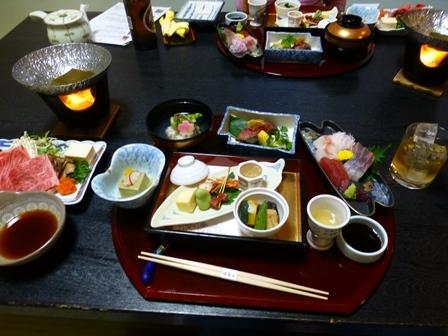 須賀谷温泉夕食3