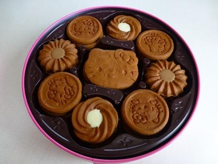 ブルボンキティクッキー缶 22