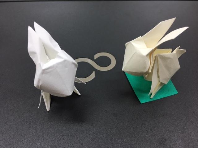 うさ折り紙1