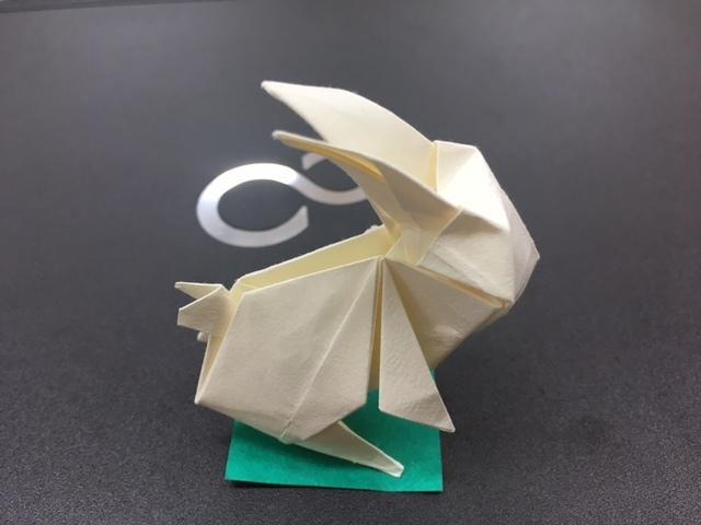 うさ折り紙3