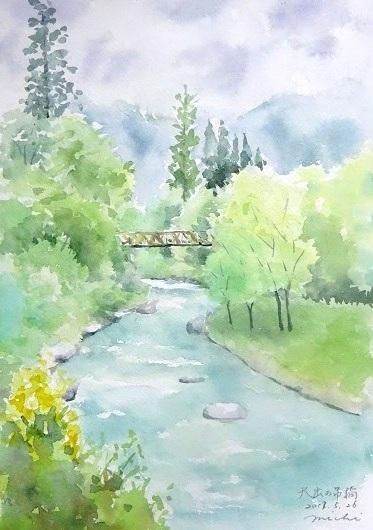 信州大出の橋