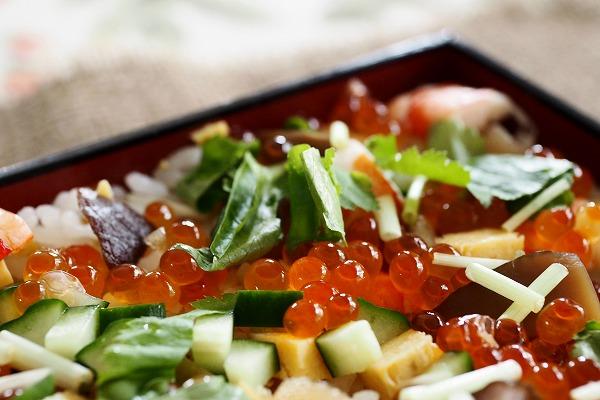 ばら寿司2