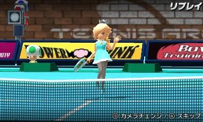 MSSSテニスで手振り