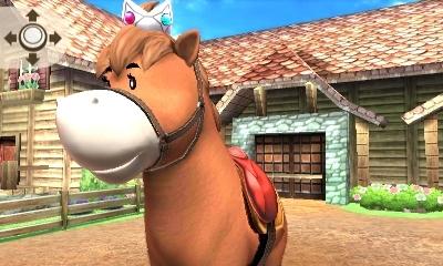乗馬ロゼッタの馬