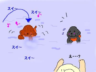 川遊び with さっくん