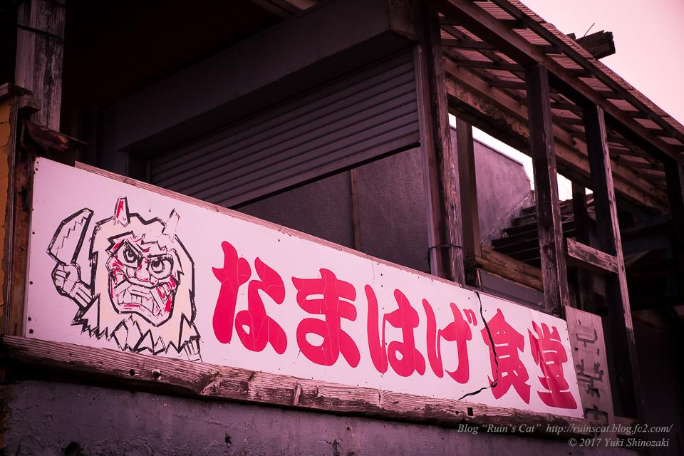 【廃墟】八望台をもりあげる店_なまはげ食堂