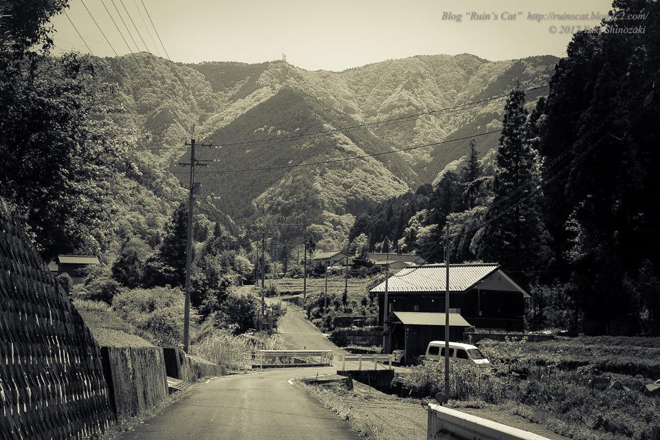 【廃墟】安原小学校 戸石分校_戸石の村の風景
