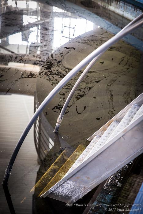 【廃墟】スパガーデン 湯~とぴあ(スパリゾート大鰐)_汚染水