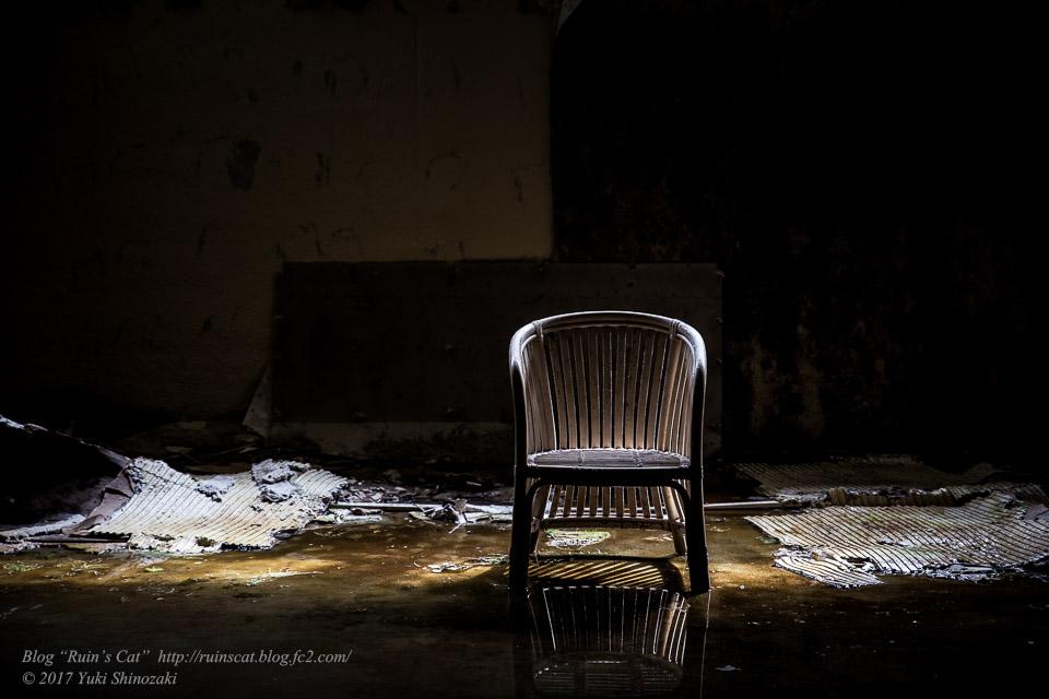 【廃墟】スパガーデン 湯~とぴあ(スパリゾート大鰐)_水鏡の椅子