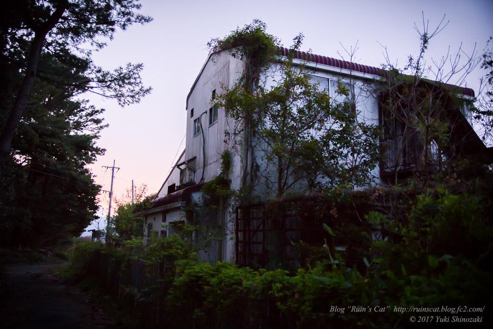 【廃墟】指宿ソーイング_夕暮れ