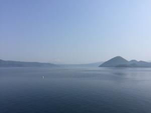 今年も洞爺湖は晴天でした〜