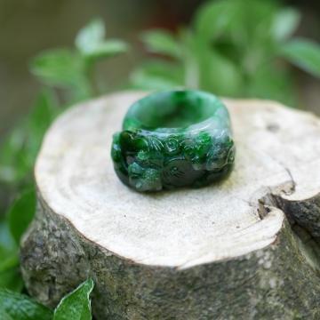 2匹のヤーズ緑色のR (3)