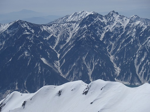 東尾根と針ノ木岳