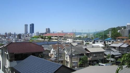 才蔵寺より広島駅方面