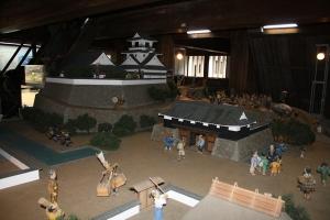 高知城の展示1