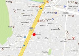 コナズ珈琲地図