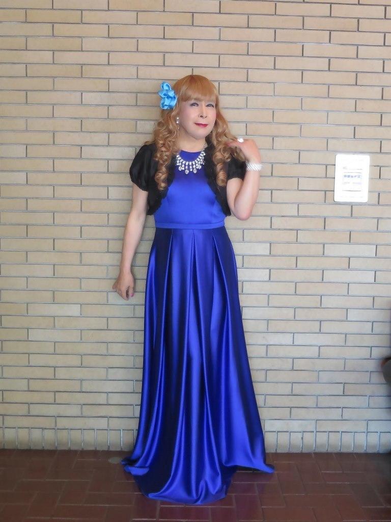 青紫ロングドレスB(5)