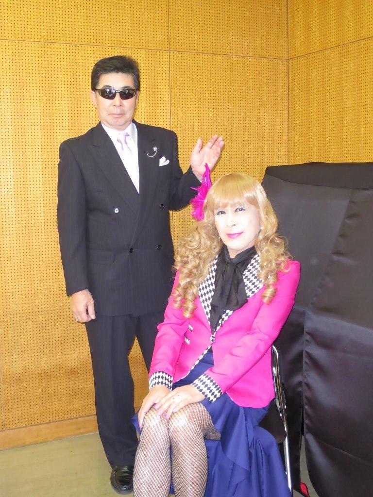 ピンク舞台用ジャケット控室(6)