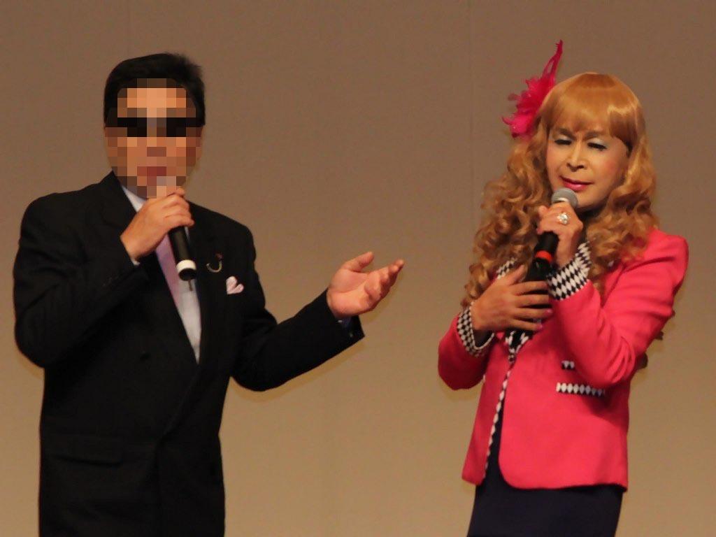●ピンクジャケットデュエット舞台(4)