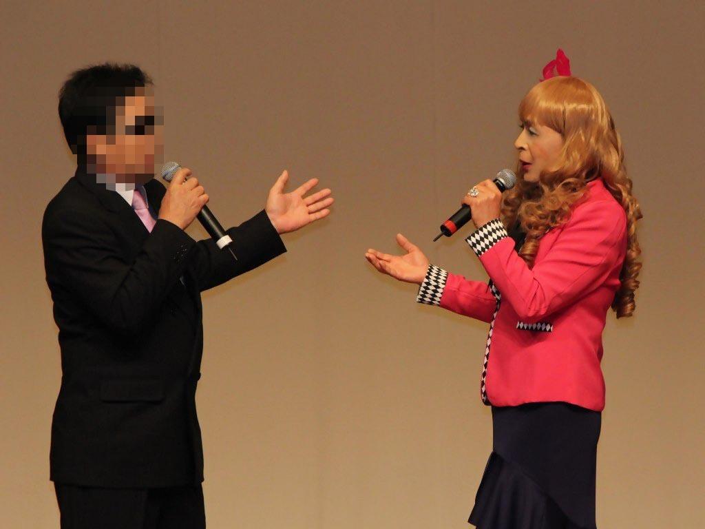 ●ピンクジャケットデュエット舞台(5)