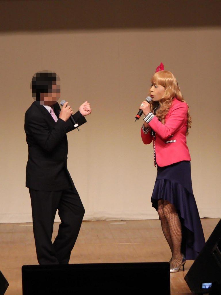 ●ピンクジャケットデュエット舞台(2)
