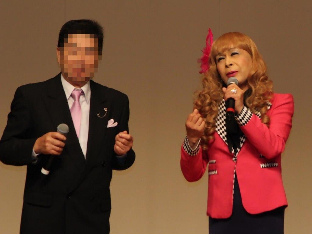 ●ピンクジャケットデュエット舞台(8)
