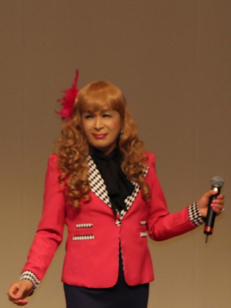 ●ピンクジャケットデュエット舞台(1)