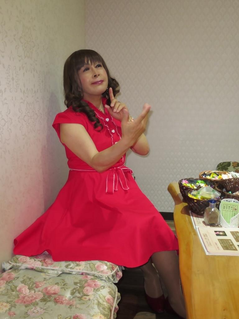 赤ワンピカラオケ(1)