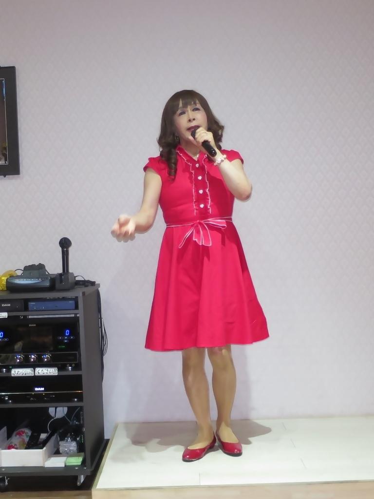 赤ワンピカラオケ(7)