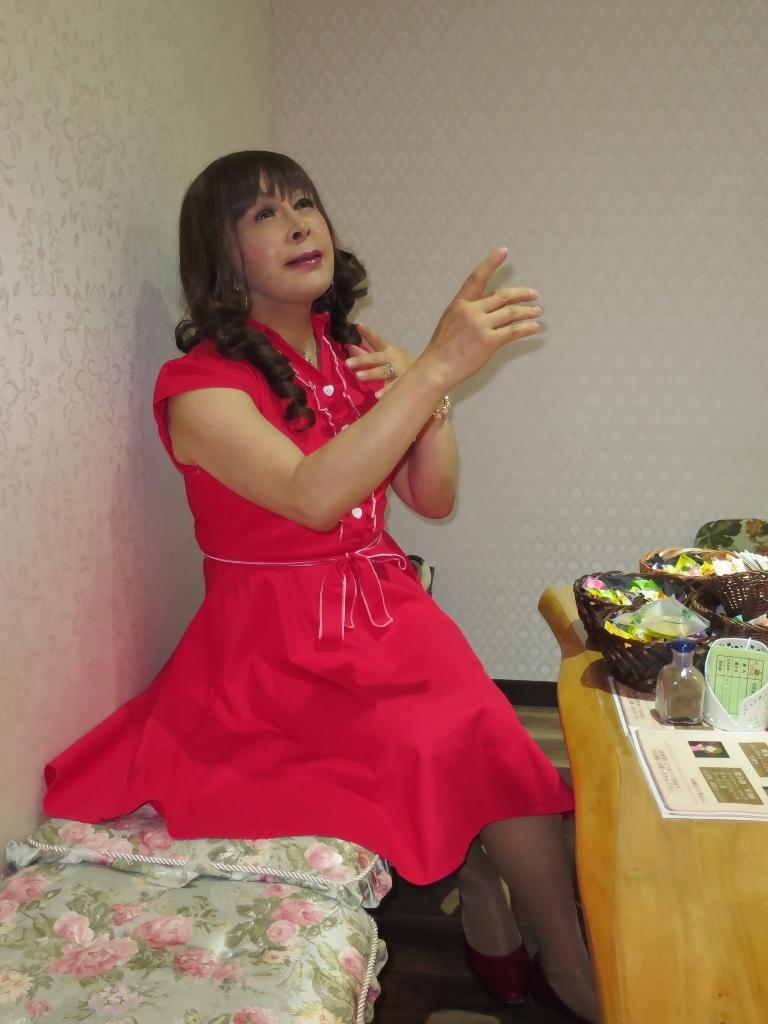 赤ワンピカラオケ(4)