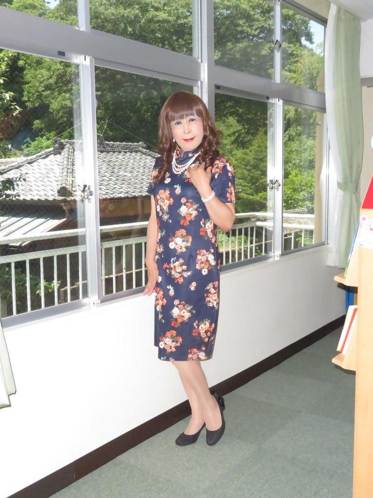 黒チャイナ服A(8)