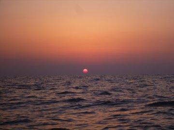 (3)日の出を見るのも久しぶり