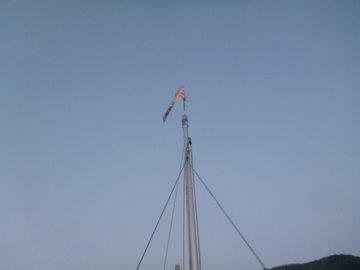 (4)風は微風