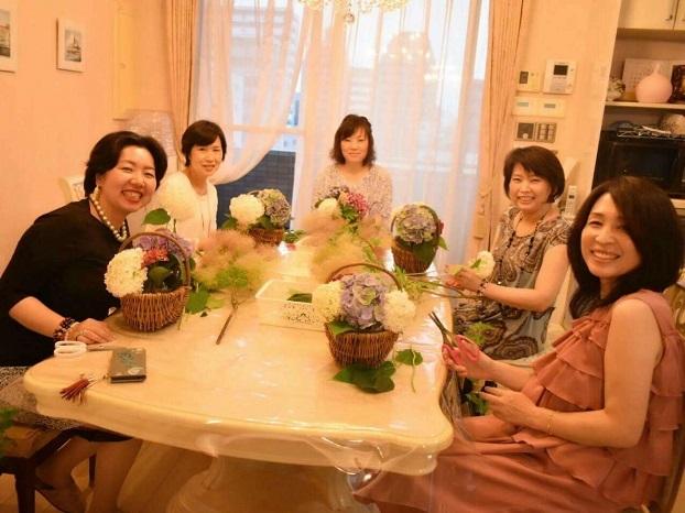 お花とシャンパンの会02
