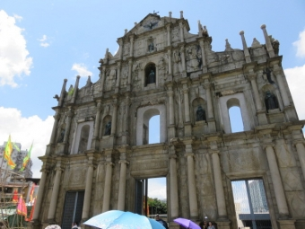 世界遺産聖ポール天主堂跡